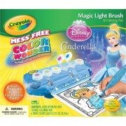 Crayola Mess Free Color Wonder Magic Light Brush- Cinderella