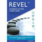 Revel for Essential Elements of Public Speaking -- Access Card