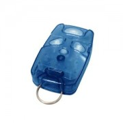 Controle Remoto 4 Teclas TX 4T-A Azul Não Clonável para Uso em Sistemas Acesso condominio Portaria Linear HCS