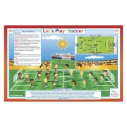 Tot Talk Let's Play Soccer Placemat