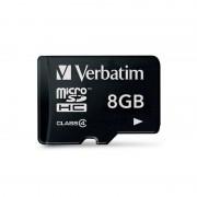 Card Verbatim microSDHC 8GB Clasa 4