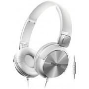 Casti Stereo Philips SHL3165WT, Microfon (Alb/Argintiu)