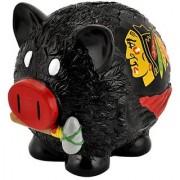 NHL Chicago Blackhawks Resin Large Thematic Piggy Bank