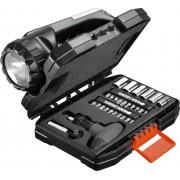 36-delna garnitura nasadnih nastavaka i nasadnih ključeva sa lampom A7141 Black & Decker