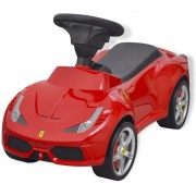 vidaXL Loopauto Ferrari 458 rood