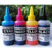 Canon Printer Refill Ink (100ml x 4 400ml Cyan Magenta Yellow Black)