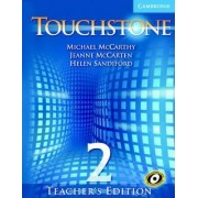 Touchstone Teacher's Edition 2 Teachers Book with Audio CD by Michael J. McCarthy