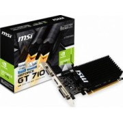 Placa video MSI GeForce GT 710 2GB DDR3 LP 64Bit