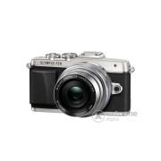 Kit aparat foto Olympus PEN E-PL7 (cu obiectiv 14-42mm EZ ), Silver