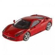 Hot Wheels Elite Modellino Auto Ferrari 458 Italia - Scala 1:43