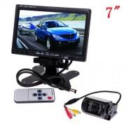 """Couvací kamery bezdrátově s 15 IR LED + LCD 7"""""""