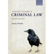 Ashworth's Principles of Criminal Law by Jeremy Horder