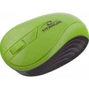 Mouse Esperanza Titanum Neon, Wireless (Verde)