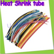 Generic Burdy : + 10meter/lot High Quality 4MM 5MM 8mm Assortment Polyolefin Heat Shrink Tubing Tube Sleeving Wrap Wire Cable Kit