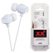 Casti Stereo JVC HA-FX101-W Xtreme Xplosives Bass (Alb)