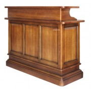 Comptoir de bar bois massif