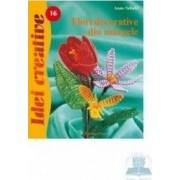 Idei creative 16 - Flori decorative din margele