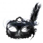 Masca venetiana neagra