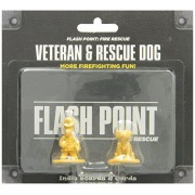 Indie Board & Card Games - 331564 - Flash Point - Fire Rescue - Vétéran And Rescue Dog