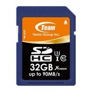 Gruppo Team Xtreem SDHC 32 GB UHS-I 90 MB/s U3 velocità scheda di memoria (vendita al dettaglio)