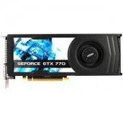 MSI N770-2GD5/OC - Carte graphique - GF GTX 770 - 2 Go GDDR5 - PCI Express 3.0 x16 - 2 x DVI, HDMI, DisplayPort