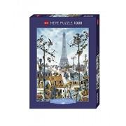 Heye - Heye-29358 - Puzzle Classique - Eiffel Tower - Loup - 1000 Pièces