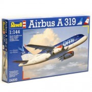Revell Airbus A319 1:144 Assembly kit Fixed-wing aircraft - maquetas de aeronaves (1:144, Assembly kit, Fixed-wing aircraft, Airbus A 319, Passenger aircraft, De plástico)