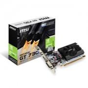 Carte Graphique MSI GeForce GT 730 N730K-1GD5LP/OCV1 - HDMI/DVI - PCI Express (NVIDIA GeForce avec CUDA GT 730)