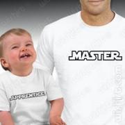 T-shirts Master Apprentice - Bebé