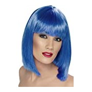 Smiffy's Glam Wig - Blue