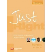 Just Right Elementary - Workbook with Answer Key: Elementary Level British English Version by Harmer, Jeremy