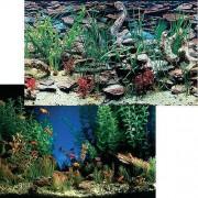 PENN PLAX Pozadí oboustr. 30cm/15m Aquarama/Shalescape