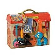 B Critter Clinic Toy Vet Play Set