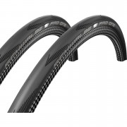 Schwalbe Pro One Folding Tyre Twin Pack - Black - 700c x 25mm