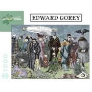 Edward Gorey 1,000-Piece Jigsaw Puzzle by Gorey Edward