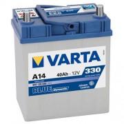 Varta Blue Dinamic 12V 40Ah 330A Asia autó akkumulátor