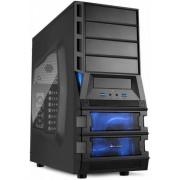 Sharkoon Vaya II Value - Midi-Tower Black