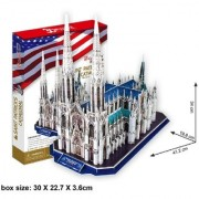 St. Patrick's Cathedral (New York City USA) (117pcs) Cubic Fun