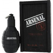Gilles Cantuel Arsenal Eau De Parfum Spray for Men Black Cantuel 3.4 Ounce