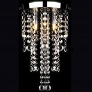 vidaXL Лампа за таван с кристални орнаменти