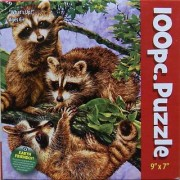 What's Up Raccoon 100 pc. Puzzle