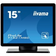 Monitor iiyama T1521MSC-B1, 15'', LCD, 8ms, 800:1, 350cd, repro