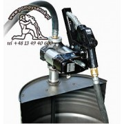 DRUM BI-PUMP A120 12V lub 24V - zestaw z pistoletem automatycznym
