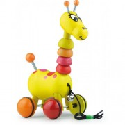Vilac Paf The Giraffe Pull Toy