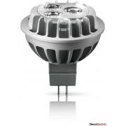 Bec Spot LED Philips (intensitate reglabila) 12V 6.5W (30W) , Soclu GU 5.3 , Alb cald