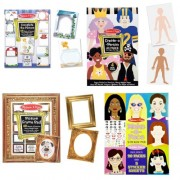 Melissa and Doug Complete the Picture, Create-a-Person, Picture Frame, and Create-a-Face Pad Bundle by Melissa and Doug