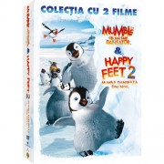 Happy Feet 1 & Happy Feet 2 - Mumble cel mai tare dansator & Mumble danseaza din nou (2DVD)