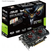 ASUS GeForce GTX 750 Ti OC Edition 4GB GDDR5 128-bit Graphics Card