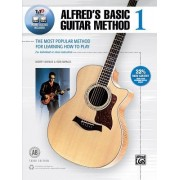 Alfred's Basic Guitar Method, Bk 1: The Most Popular Method for Learning How to Play, Book, DVD & Online Audio, Video & Software