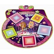 Alisable Children Electronic Musical Playmat Non Slip Fitness Dance Pad Dancing Mat Musical Sensitive Zippy Toys(Grid Style)